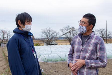 坂東地域農業改良普及センター佐々木専門員がサポート
